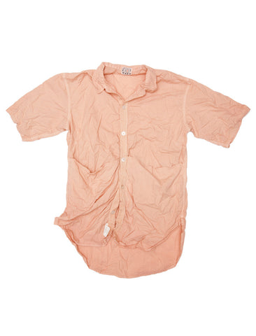 TENDER CO. COTTON LAWN SHORT SLEEVE TESSERACT SHIRT