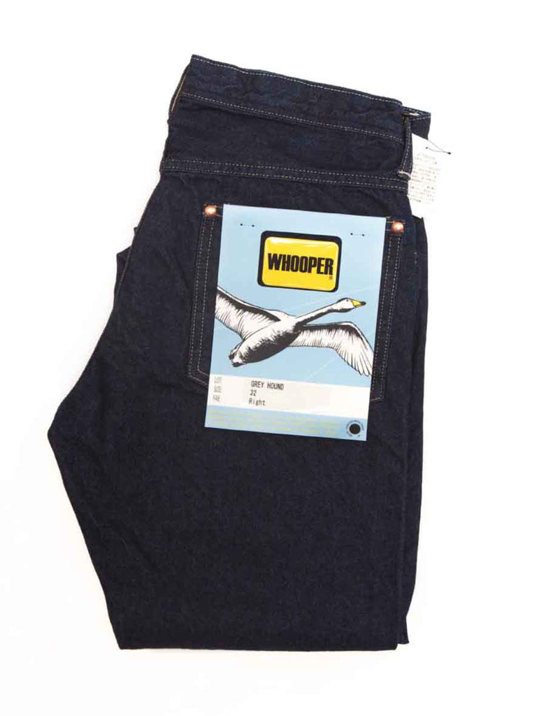 Whooper Jeans WHOOPER JEANS GREYHOUND DENIM - M U T I N Y