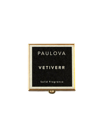 PAULOVA VETIVERR SOLID FRAGRANCE