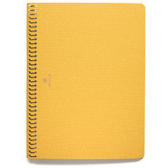 POSTALCO. SIGNAL YELLOW LARGE PINGRAPH NOTEBOOK