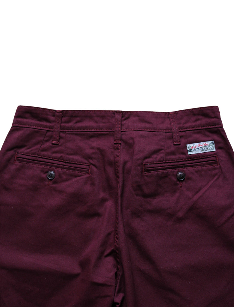 Left Field LEFT FIELD | ANGUS YOUNG WINE SHORTS - M U T I N Y
