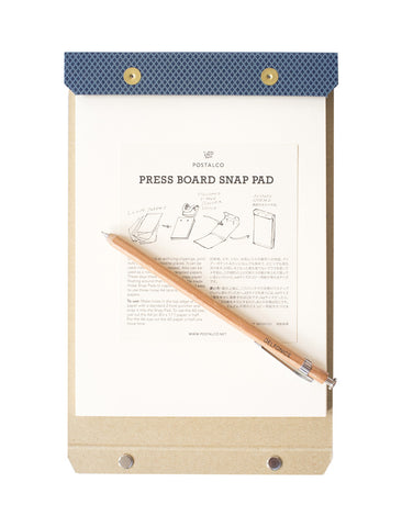 POSTAL CO. A4 SNAP PAD