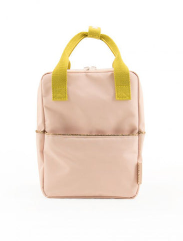 STICKY LEMON SMALL BACKPACK | NUDE PINK / FRESH OCHRE