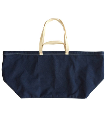 TENDER CO. BARGE BLUE CANVAS BAG