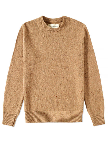 UNIVERSAL WORKS TAUPE FISHERMAN JUMPER