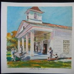 Old First Baptist Church Print