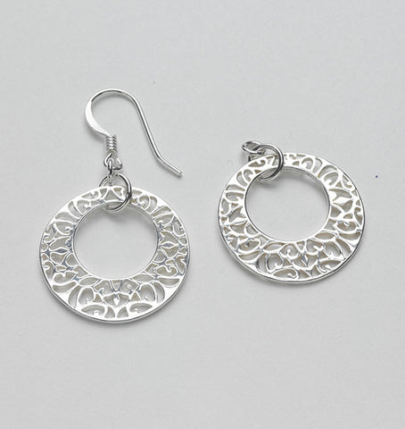 Open Center Earring DER E365