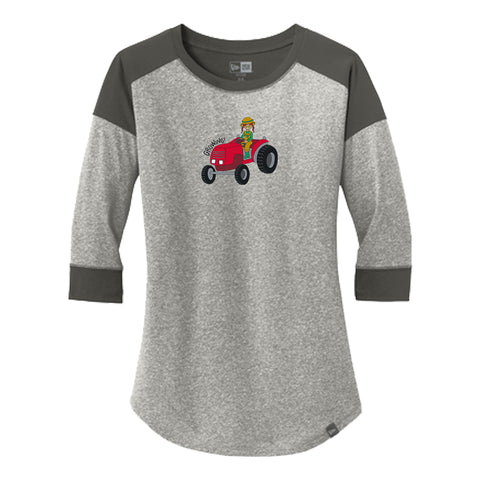 Ladies Baseball Tee - Frankie