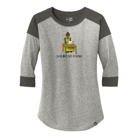 Ladies Baseball Tee - Ida