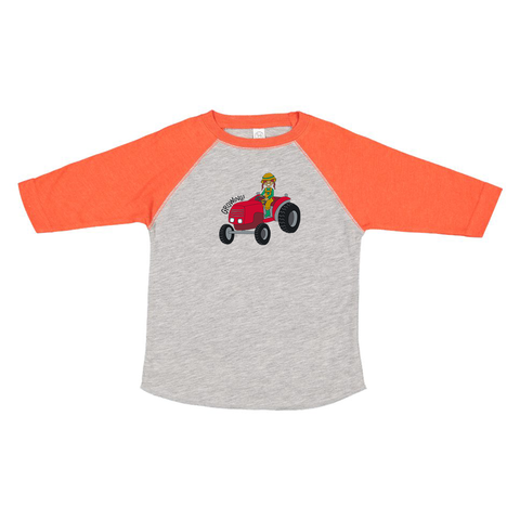 Toddler Baseball Tee - Frankie
