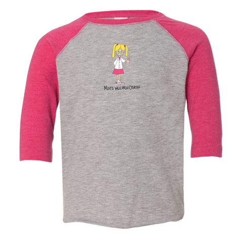 Toddler Baseball Tee - Clara