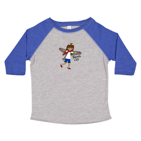 Toddler Baseball Tee - Pilar
