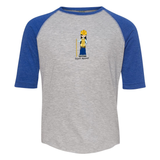 Youth Baseball Tee - Evie