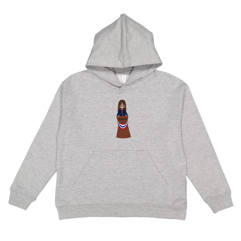 Youth Hoodie - Rosa
