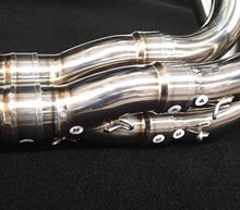 Load image into Gallery viewer, VANDEMON H2R Style POLISHED TITANIUM EXHAUST SYSTEM 2015-19