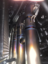 Load image into Gallery viewer, KAWASAKI NINJA ZH2 VANDEMON Brushed TITANIUM EXHAUST SYSTEM