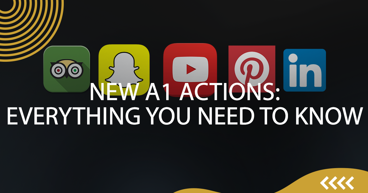 NEW A1 Actions: Everything You Need to Know.
