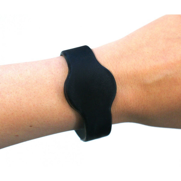 A1 Silicon Band - Black