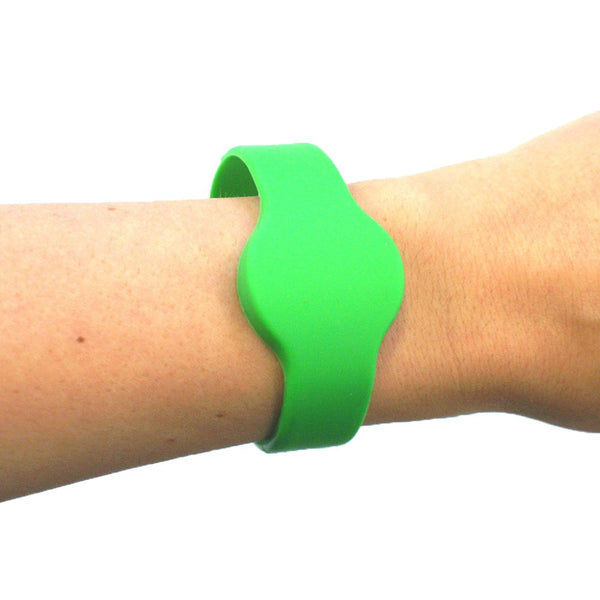 A1 Silicon Band - Green