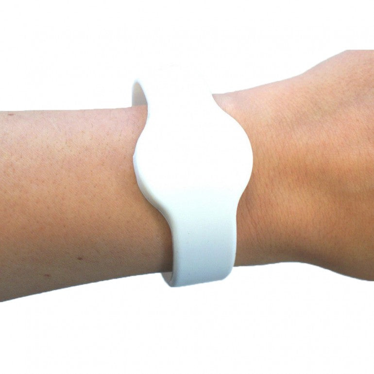 A1 Silicon Band - White