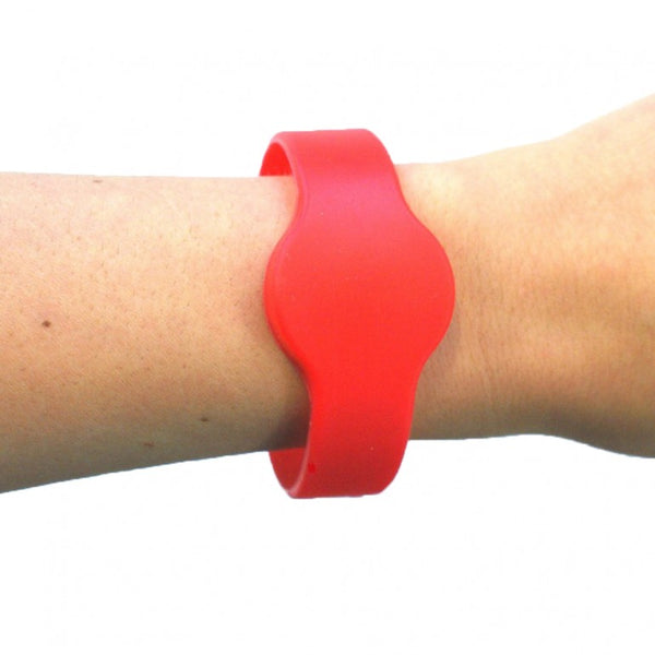 A1 Silicon Band - Red