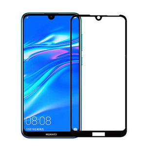 Huawei Y7 2019 Tempered Glass Screen Guard Full Glue