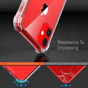 iPhone 11 Pro Clear Shock Resistant Armor Cover