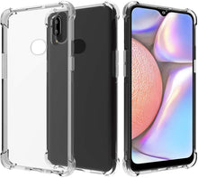 Load image into Gallery viewer, Samsung Galaxy A10S Clear Shock Resistance Armor Cover