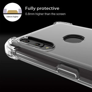 Samsung Galaxy A10S Clear Shock Resistance Armor Cover