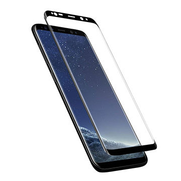 Samsung Galaxy S9 Plus Tempered Glass Screen Guard Full Glue Cover Friendly