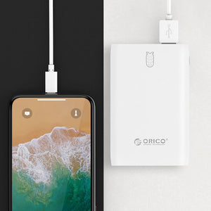 ORICO M6 6000mAh Power Bank - White