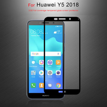 Huawei Y5 2018 Tempered Glass Screen Guard Full Glue