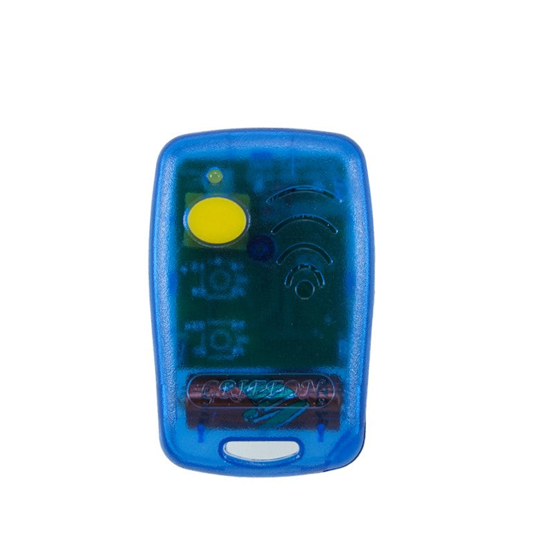 Griffon 1 button blue 433mHz remote transmitter