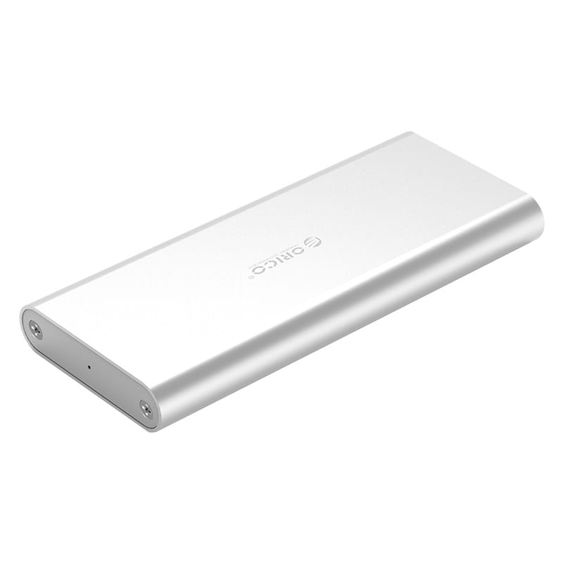 Orico M.2(2230/2242/2260/2280) to USB3.1(Device Input) Gen-2 Type-C(Enclosure Side) SSD Enclosure (2TB Max) - Aluminium (Compatible with CTA2-SV/CTA2-GR)
