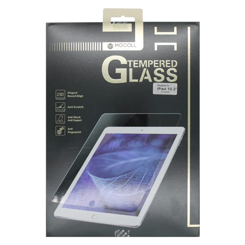 Mocoll 2.5D Tempered Glass Full Cover Screen Ipad Pro 10.2 Clear