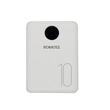 Load image into Gallery viewer, Romoss OM10 10000mAh Input_Type-C|Lightning|Micro USB|Output:2 x USB Power Bank White