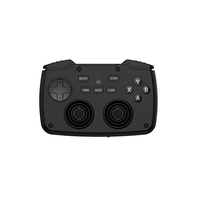 Rii 2in1 Wireless Gamepad with Touchpad|QWERTY Keyboard|2 x Analogue Sticks|Bumpers and Triggers|D-Pad|backlighting - Black