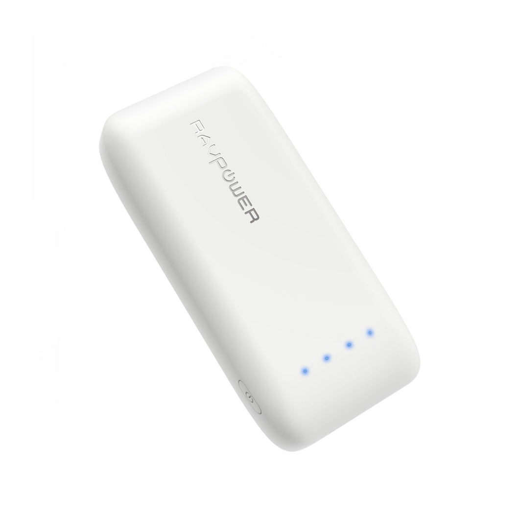 RAVPOWER 6700mAh Micro USB Power Bank White
