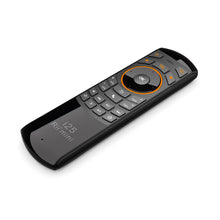 Load image into Gallery viewer, Rii Wireless QWERTY Air Mouse Dual-Sided IR Remote Keyboard Black