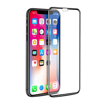 Apple iPhone XS Tempered Glass Screen Guard Full Glue