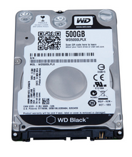 Load image into Gallery viewer, WD Black 500GB 2.5 SATA 32MB