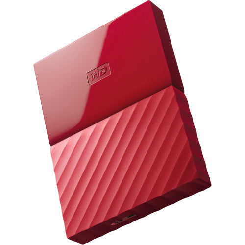 WD MyPassport 1TB 2.5 USB3.0 Red