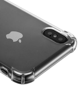iPhone X / XS Clear Shock Resistant Armor Cover