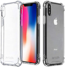 Load image into Gallery viewer, iPhone X / XS Clear Shock Resistant Armor Cover