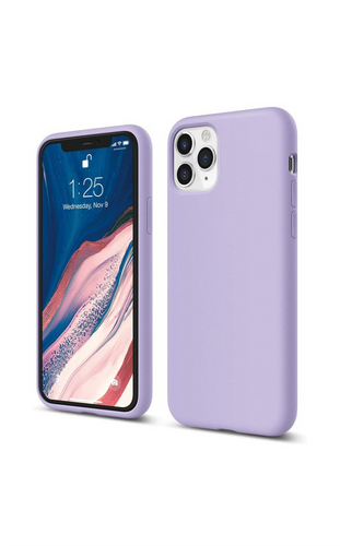 iPhone 11 Pro Silicone Shock Resistant Cover - Lavender