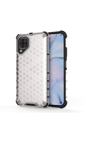 Huawei P40 Lite Shockproof Honeycomb Cover Clear