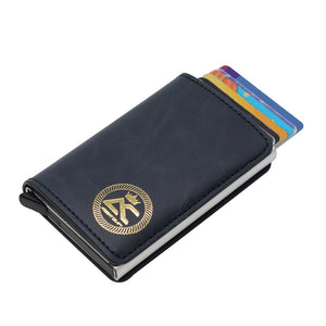 Argent Craft Minimalist Wallet - Dark Blue