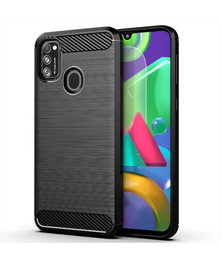 CellTime Galaxy A11 Shockproof Carbon Fiber Design Cover