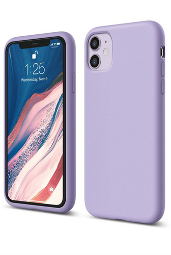 Celltime iPhone XR Silicone Shock Resistant Cover - Lavender Purple