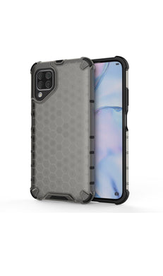 Huawei P40 Lite Shockproof Honeycomb Cover Grey